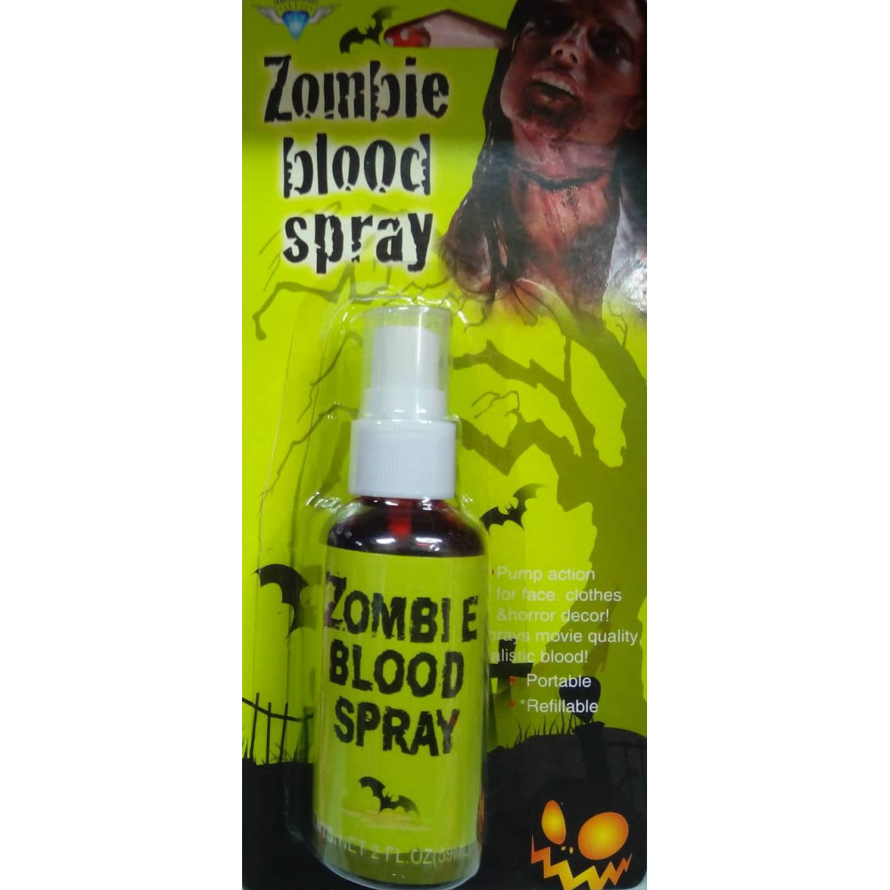 Artificial Blood - Spray - Accessory for Halloween or Carnival