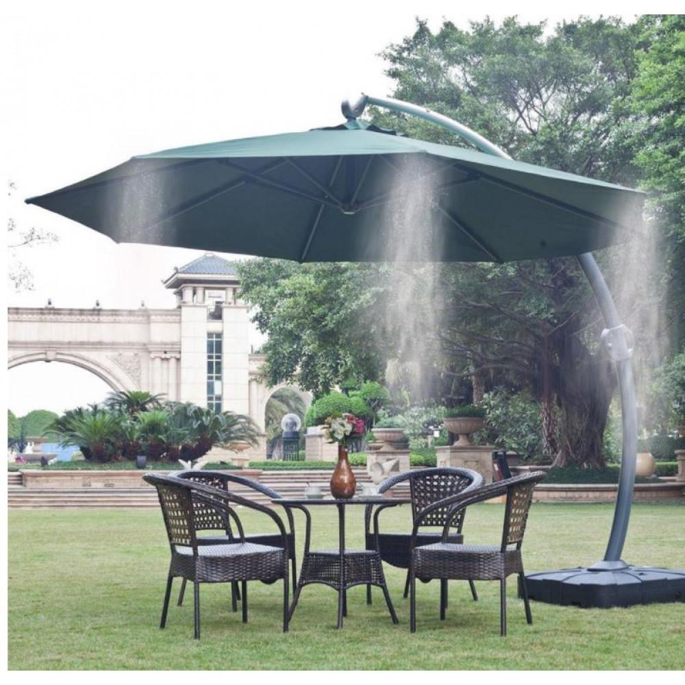 Sprinkler - water spray system for garden umbrella, spray gun for cooling