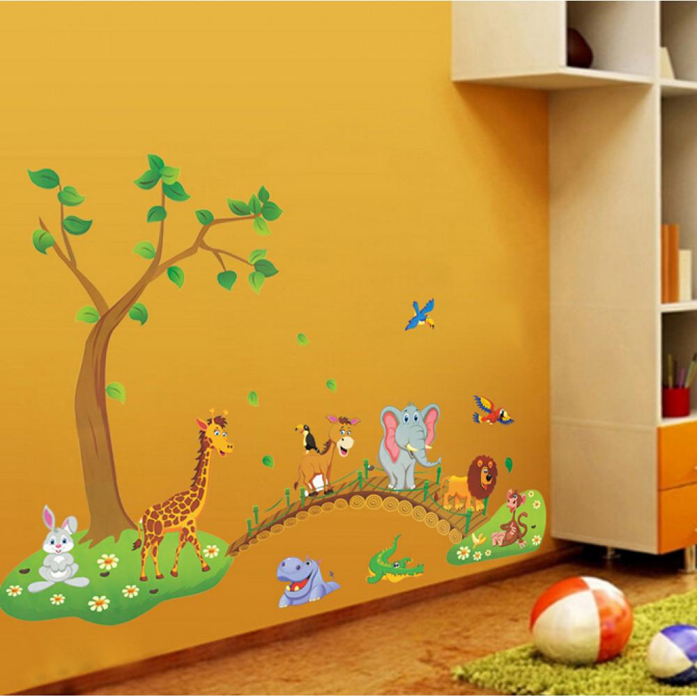 Jauna dizaina stilīgas bērnu istabas sienas uzlīmes