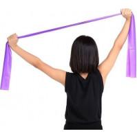 Ģimnastiskā gumija jogai, pilatesam, fitnesam