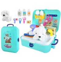 Childrens Dog Hairdresser Toy Set
