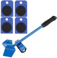 A set of rollers for lifting and moving transportation of furniture, weights, loads