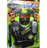 Police officer's kids armor set - police, SWAT or Roman gladiator warrior