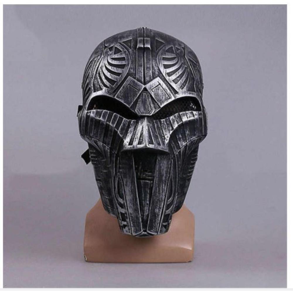 Rubber carnival mask Lord Adraas Darth Sidious Star Wars