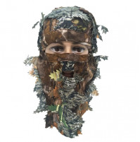 Leaf camouflage mask for hunters