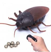 Гигантский радиоуправляемый таракан, игрушка для детей и домашних животных