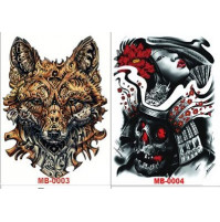 Big Size TEMPORARY TATTOO TATTOO STICKER