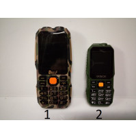 Classic push-button telephone with super-powerful battery, up to two months of continuous operation