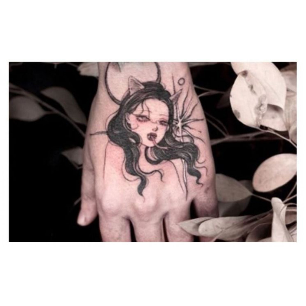 Temporary Hipe Washable Tattoos for Party, Instagram, Tik Tok, Photo Shoot