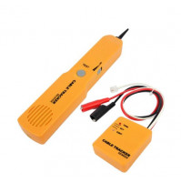 Durable Handheld Telephone Cable Tracker Phone Wire Detector RJ11 Line Cord Tester Tool Kit Tone Tracer Receiver Networking Tool