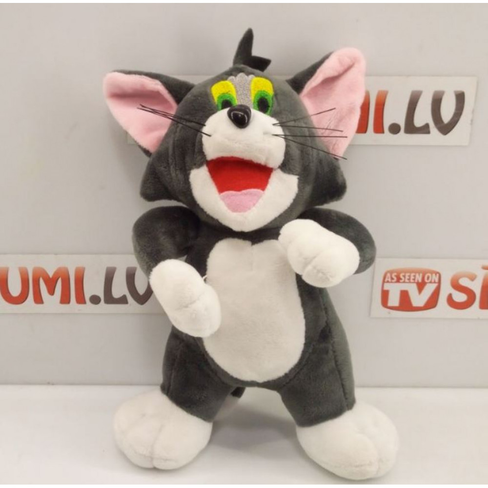 Tom and Jerry stuffed plush toy, Tom cat or Jerry mouse