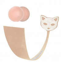 C Style Cat Shaped Invisible Strapless Thong (Cats)