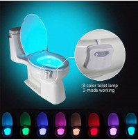 LED lights for the toilet with a motion sensor (8 colors)