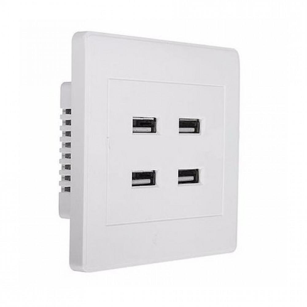 USB wall socket