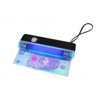 2 in 1 - bright LED and ultraviolet UV flashlight money verification tester