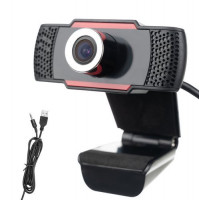 Full HD 1080 P Webcam with built-in microphone and noise reduction, high resolution, high-quality picture, clip-on, for broadcasts, video calls, streams
