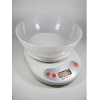 Swan electronic kitchen scale with removable bowl