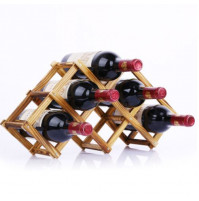 A gift for wine lovers - a stylish wine shelf for easy storage of bottles