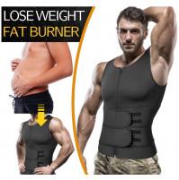 Mens neoprene slimming sports corset
