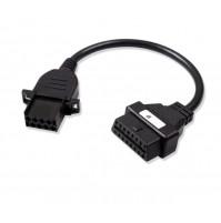 OBD II diagnostic cable - 8 pin for Volvo cars