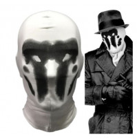 Rorschach mask from DC Comics and movie Watchmen
