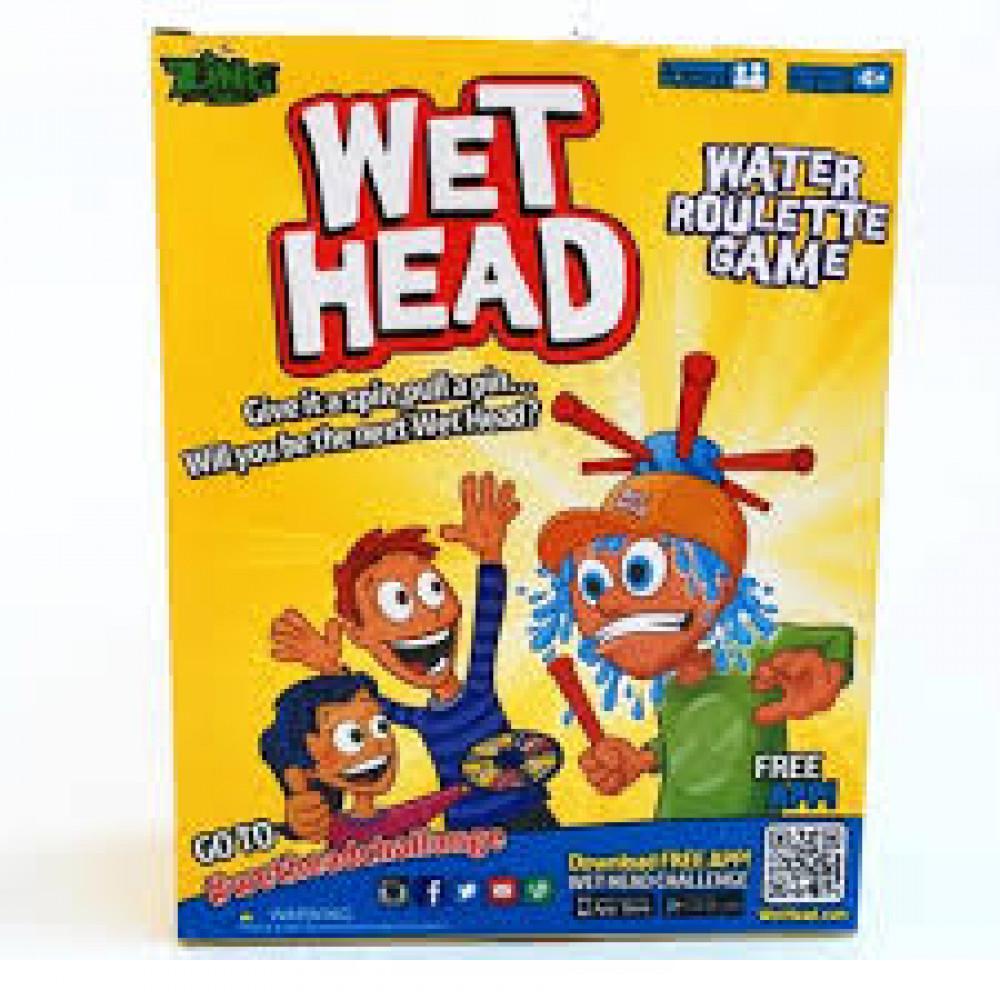 """Spēle """"Slapjā galva"""""""
