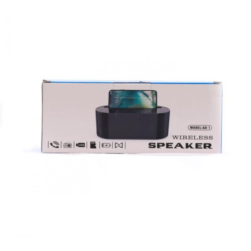 Powerful wireless portable speaker Bluetooth, FM, AUX 3.5 mm