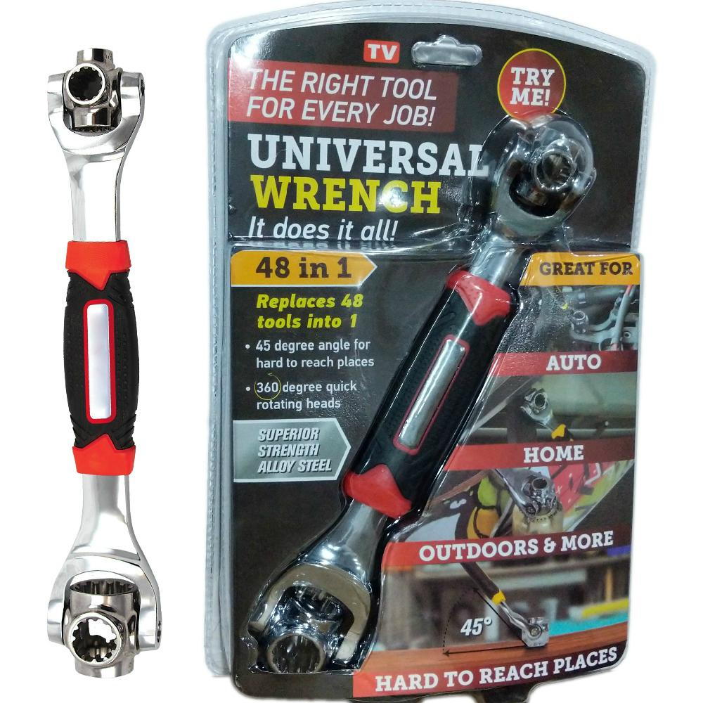 48 in 1 Universal Combination Wrench Tiger Wrench