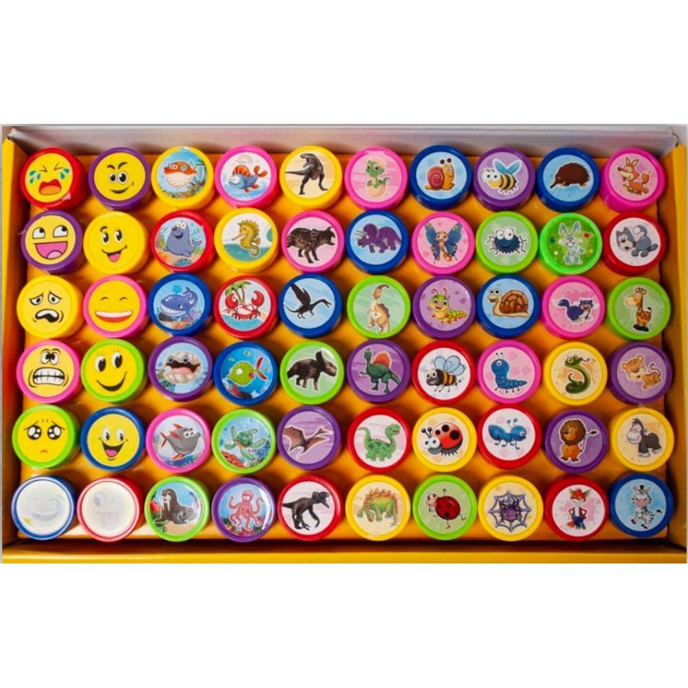 Baby Washable Tattoos, Animal, Dinosaur, Emoji, Emoji Print Stamps