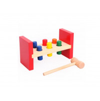 """Board educational game - knocker """"Hammer a piece of wood"""""""