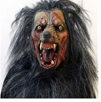 Scary werewolf wolf mask for Halloween, costume parties and other holidays